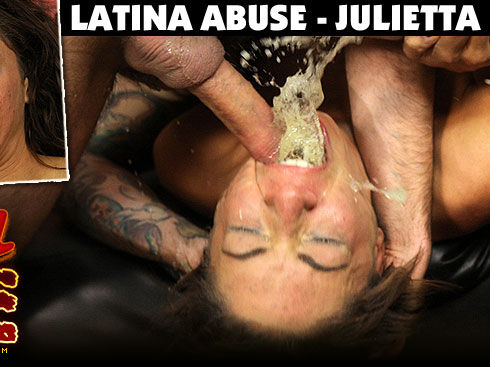 Julietta Degraded on Latina Abuse